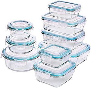 recipientes de cristal